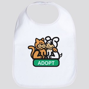 adopt animals Bib